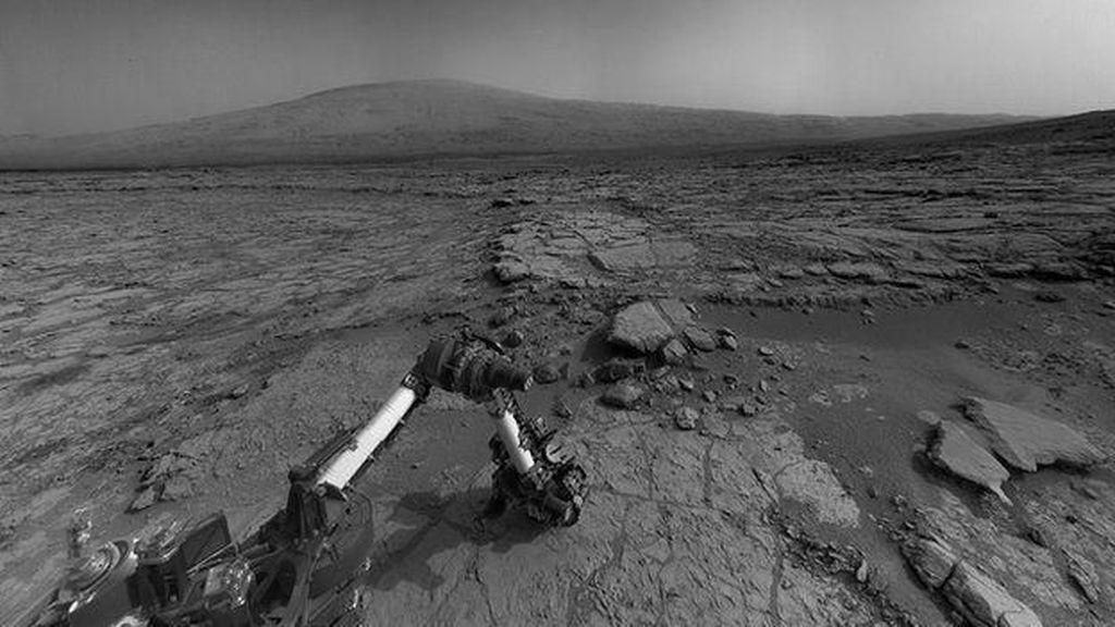 2 Ribu Hari di Mars, Ini Foto-foto Mengagumkan Robot Curiosity