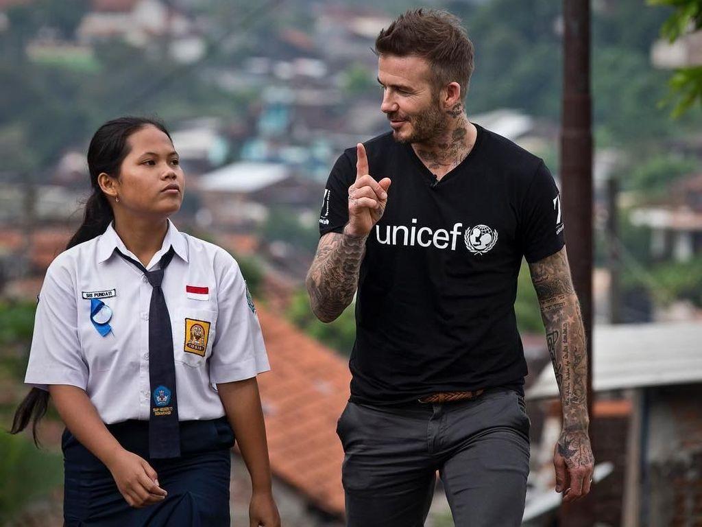 David Beckham Belajar Ora Popo dan Matur Nuwun dari Sripun