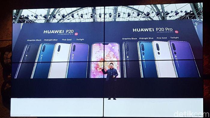 Foto: Peluncuran Huawei P20 (Gobekasi/Mohammad Imron Rosyidi)