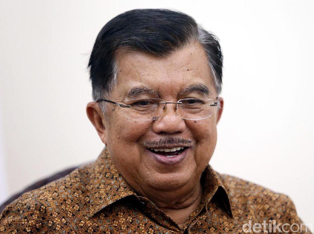 JK Ditunjuk Jadi Ketua Tim Penasihat Jokowi-Maruf Amin