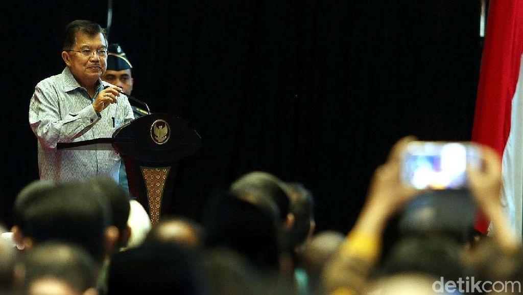 JK Buka Rapat Kerja Kepala Daerah