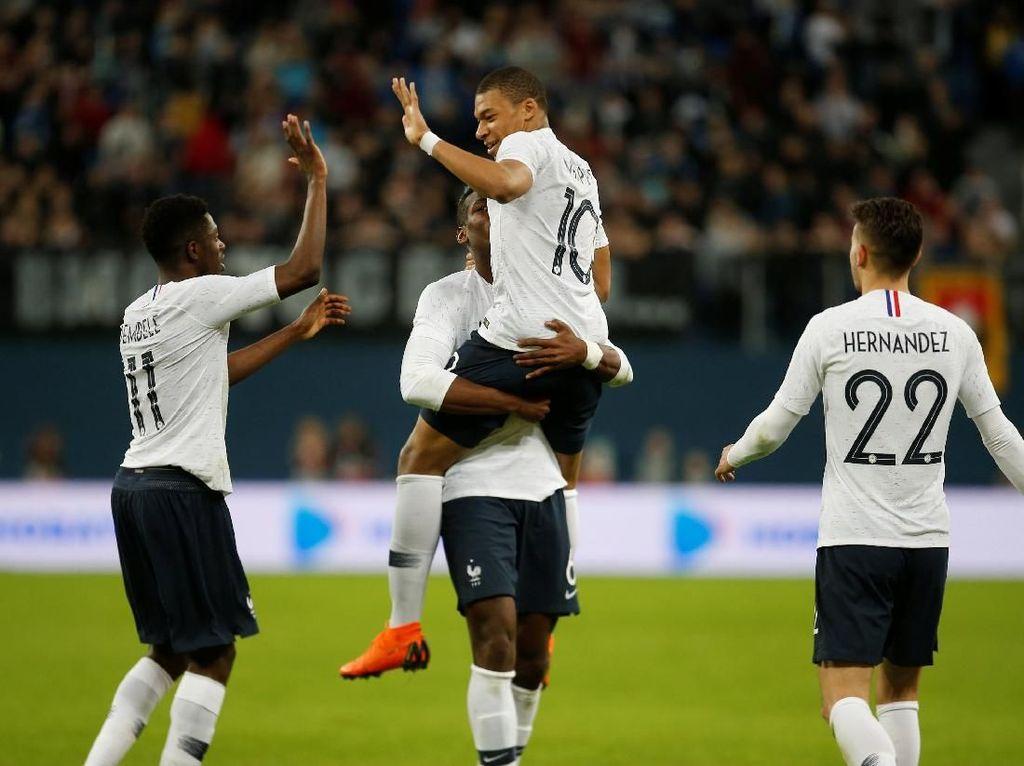Mbappe: Striker-Striker Prancis Mesti Lebih Sering Main Bareng