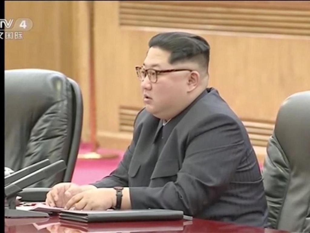 Pertama Kali, Kim Jong-Un Bahas Rencana Pertemuan Korut-AS