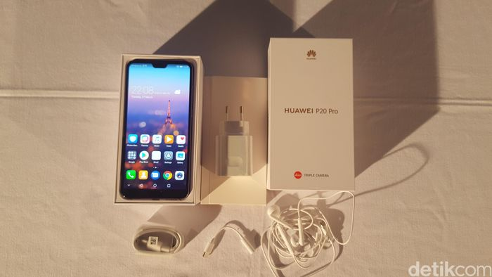 Huawei P20. Foto: Gobekasi/Muhamad Imron Rosyadi