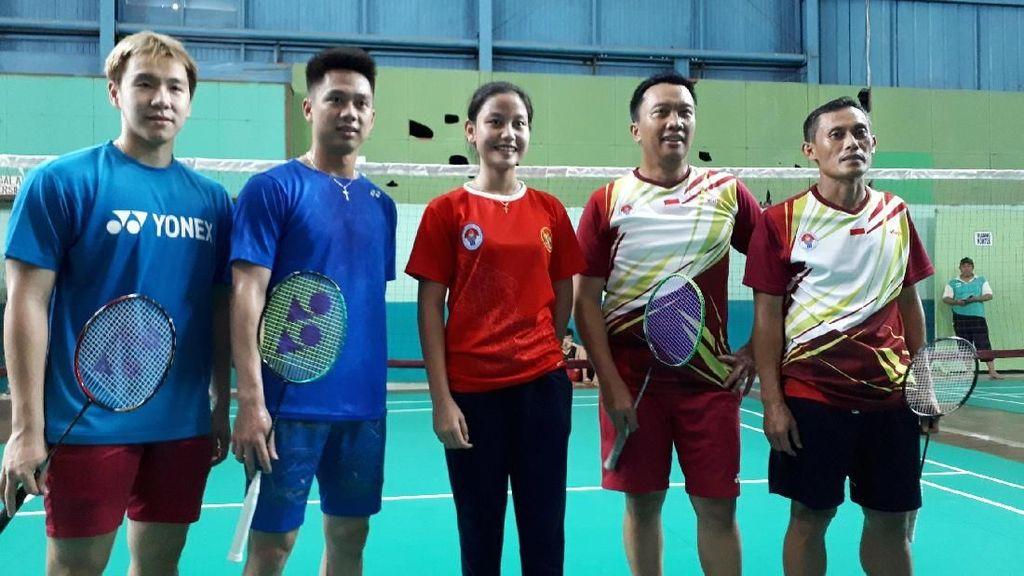 Kevin/Marcus Tularkan Semangat ke Atlet-Atlet Muda di SKO Ragunan