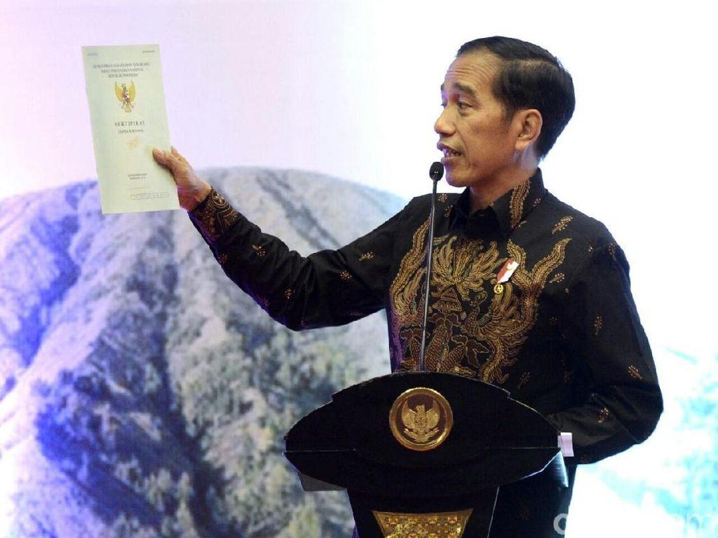Dibilang Palsu oleh Hanafi Rais, Ini Reforma Agraria Jokowi