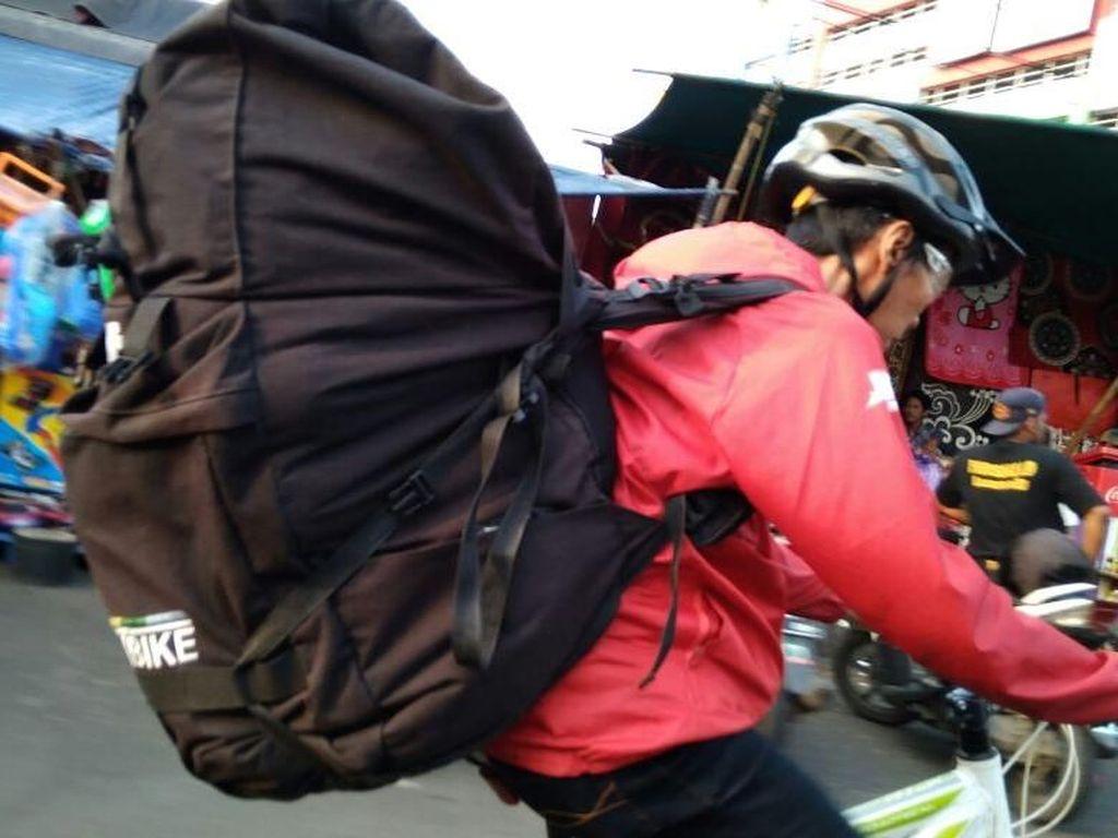 Sulap Sepeda Jadi Peluang Bisnis Kurir Anti Macet