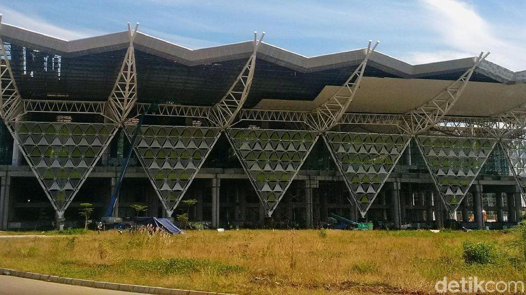 Hampir Kelar, Penampakan Terbaru Bandara Kebanggaan Warga Jabar
