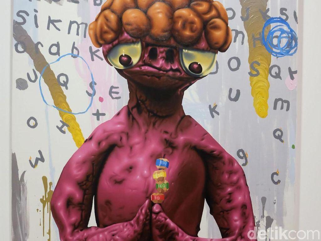 Melihat 2 Galeri Seni Indonesia di Art Basel Hong Kong