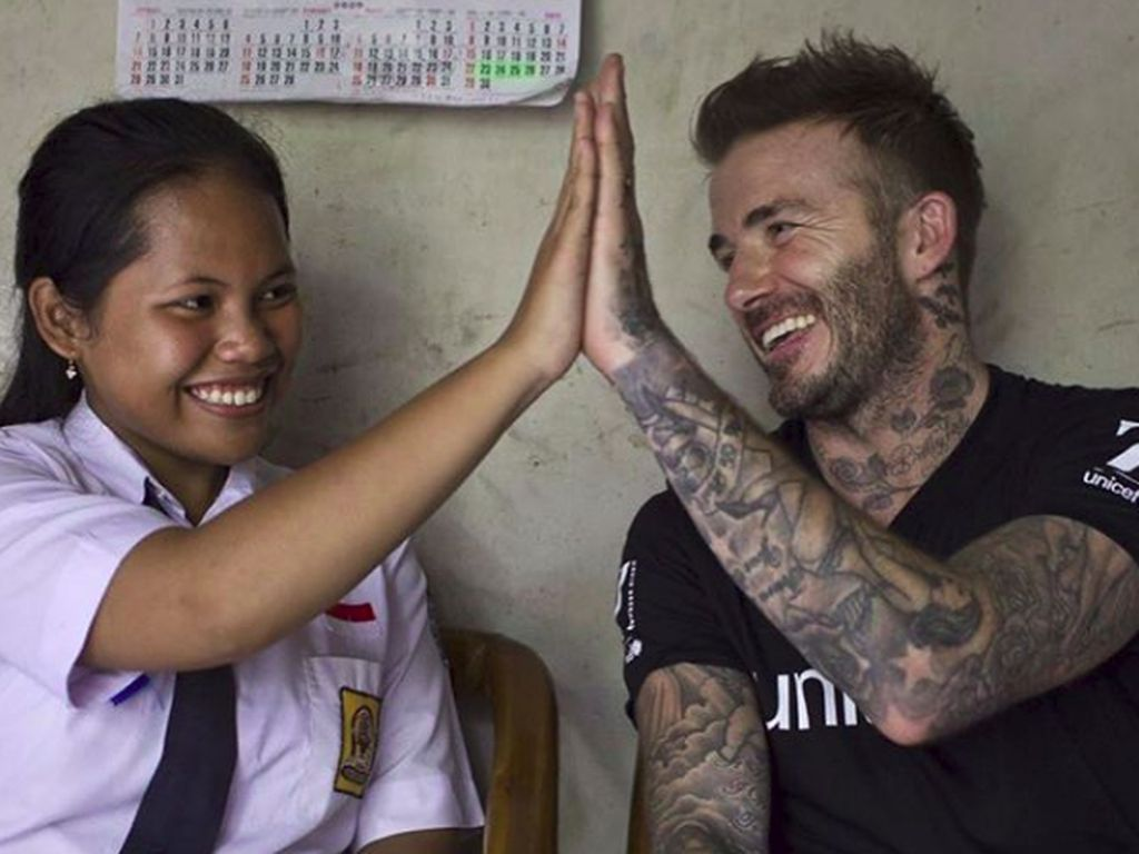 Ini Sripun, Remaja Semarang yang Bajak Instagram Beckham
