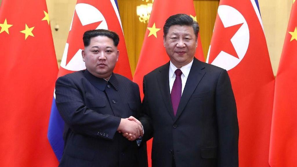 Foto: Kunjungan Mendadak Kim Jong Un ke China yang Bersejarah