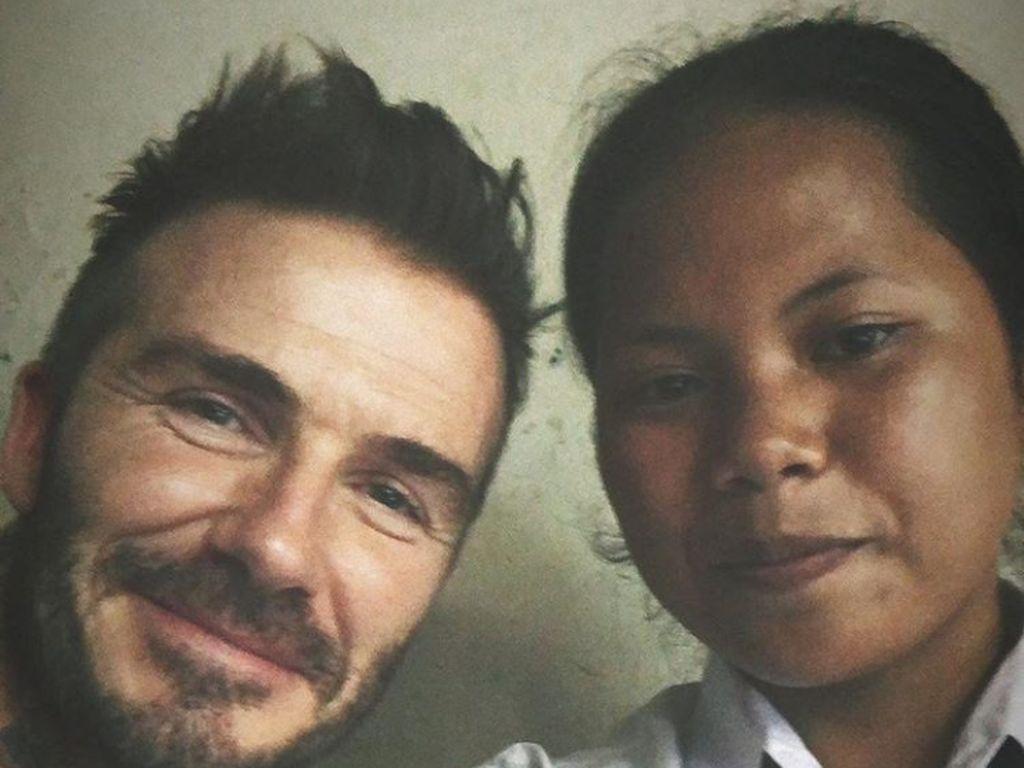 Mengintip Instagram Sripun Si Penakluk Beckham