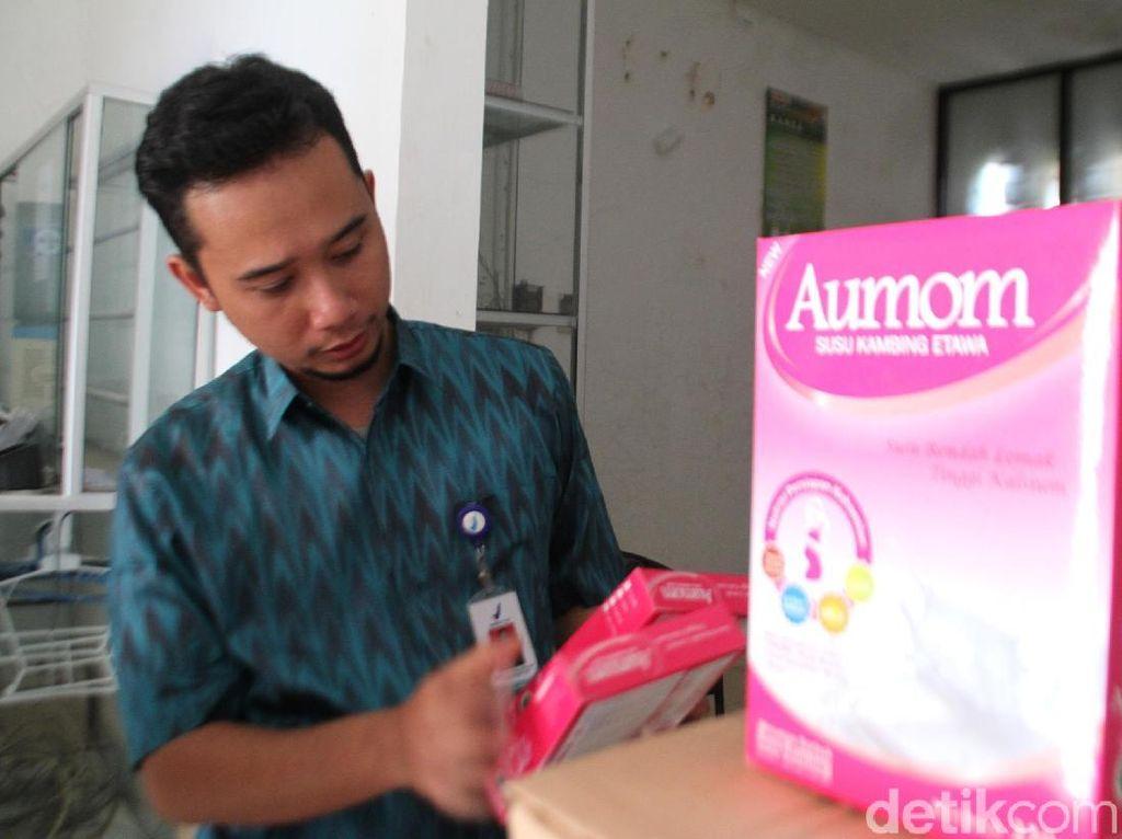 BPOM Gerebek Pabrik Susu Kambing Etawa di Tegal