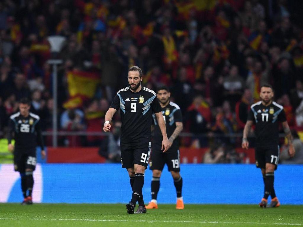 Argentina Dihantam Meme Usai Dilumat Spanyol