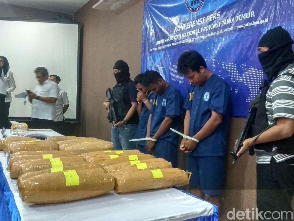 Pengiriman 19 Kg Ganja ke Lapas di Bali Digagalkan