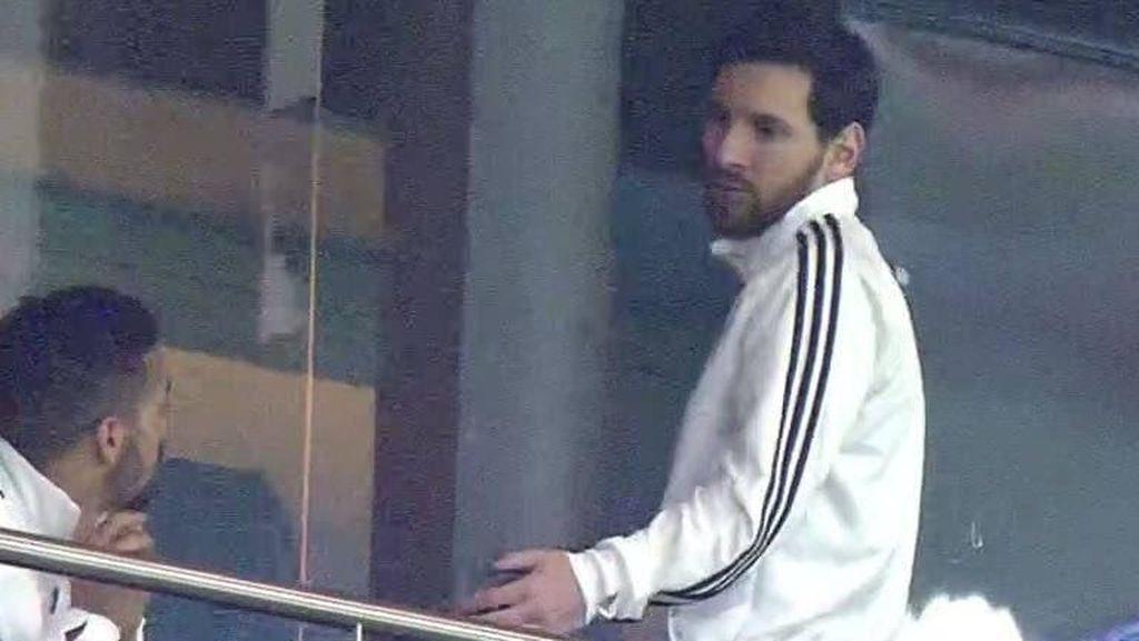 Messi Kabur saat Argentina Babak Belur Lawan Spanyol