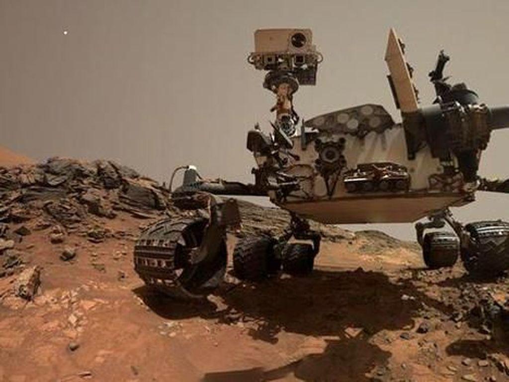2 Ribu Hari Sudah Robot Penjelajah Curiosity Berada di Mars