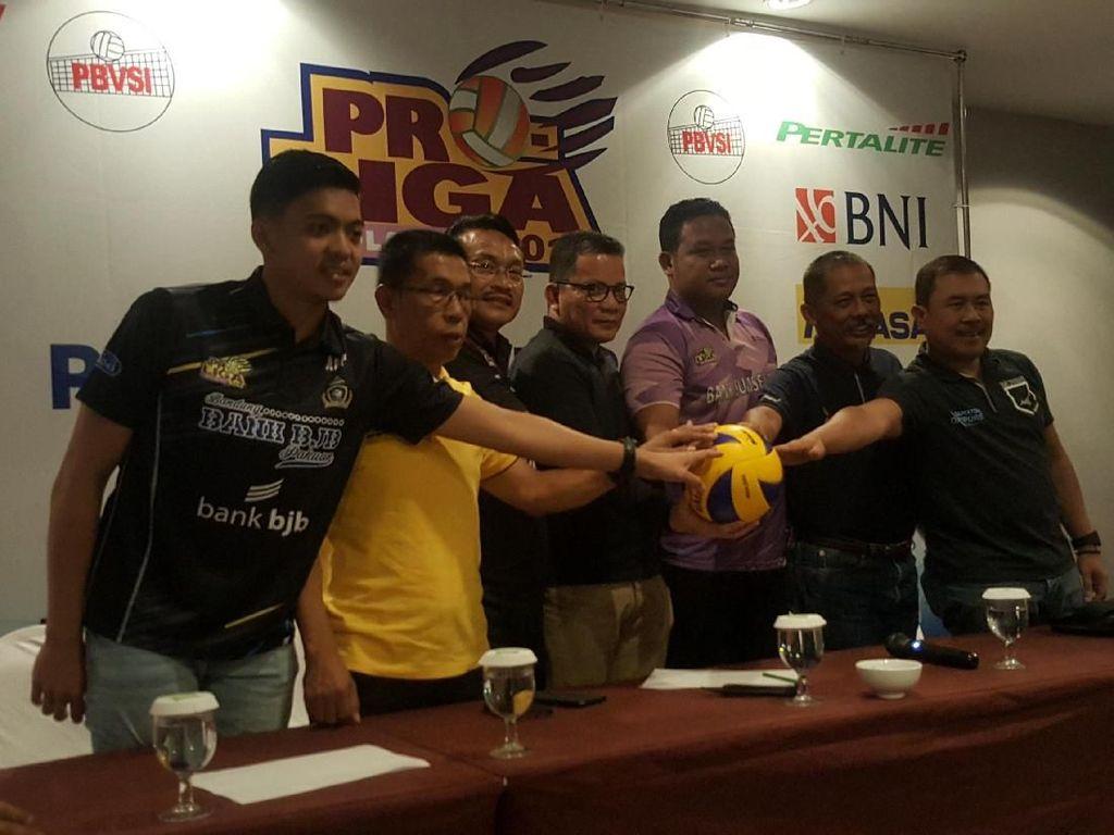 Final Four Proliga 2018 Putaran I di Malang