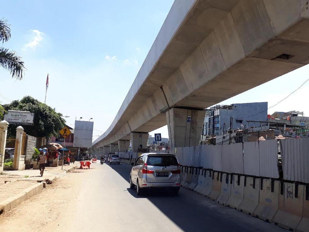 Hampir Tersambung, Begini Penampakan Terkini Proyek LRT Jakarta