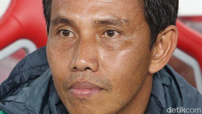 Bima Sakti menggantikan Luis Milla sebagai pelatih timnas Indonesia. (Foto: Ari Saputra)