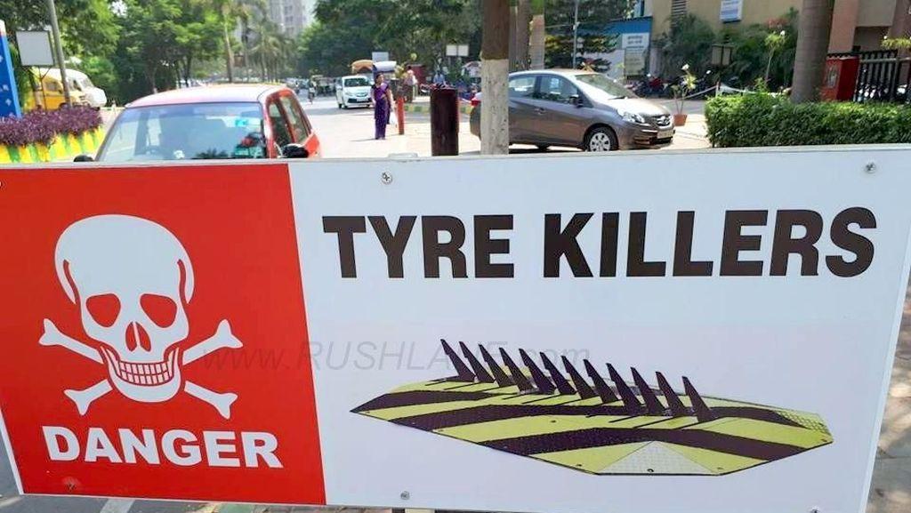 Tyre Killer, Jurus Atasi Pengendara yang Suka Lawan Arus