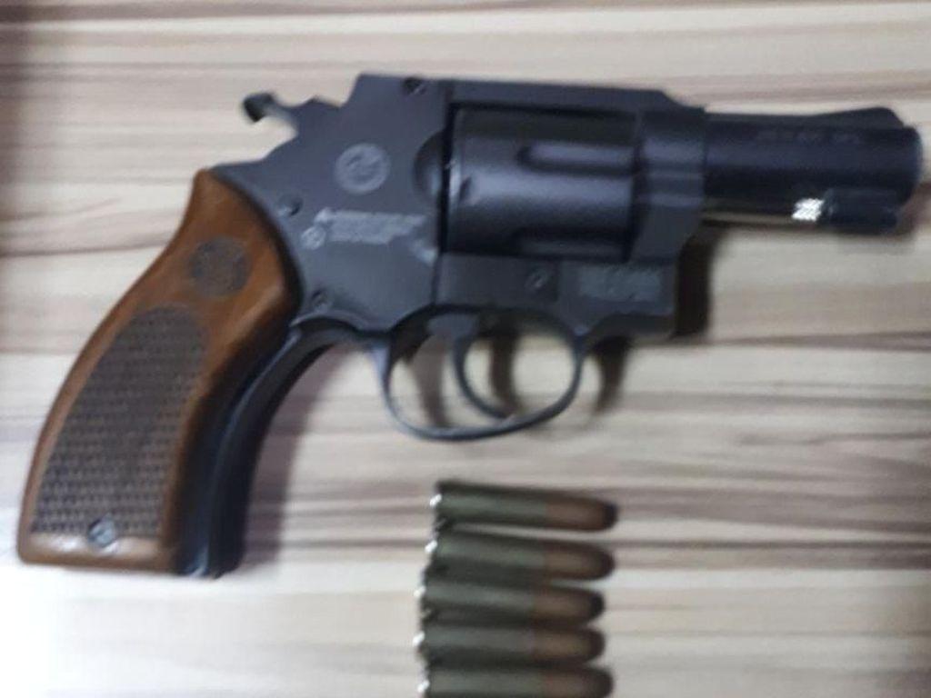 Ini Airsoft Gun Pengemudi Koboi yang Dipakai buat Nodong