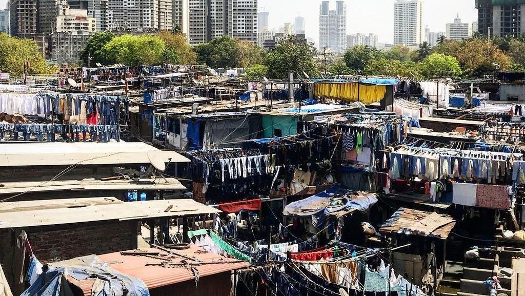 Foto: Tempat Cuci Baju Terbesar di Dunia