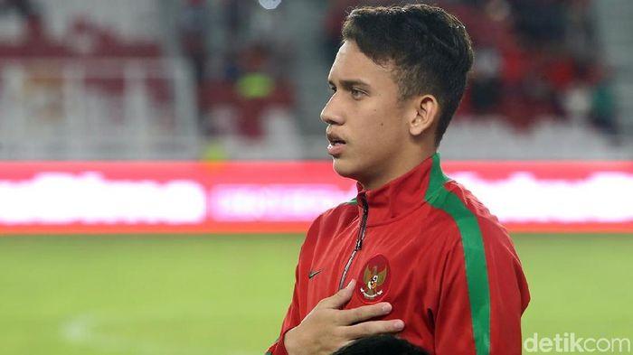 Egy Maulana Vikri belum bergabung dengan skuat timnas Indonesia yang tampil di Piala AFF U-19 (Foto: Ari Saputra)