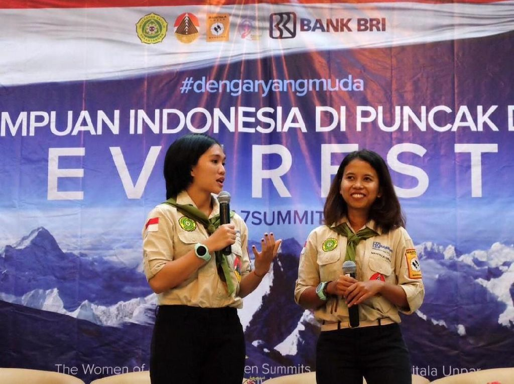 Dua Mahasiswi Unpar Siap Mendaki Everest