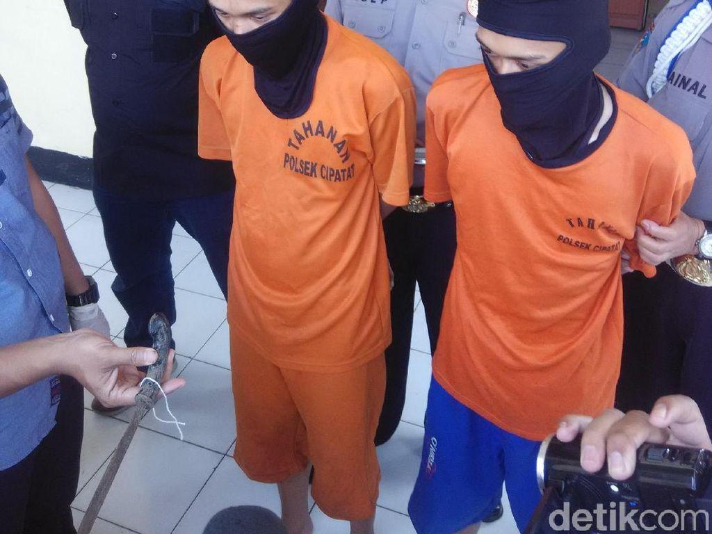 Berandal Bermotor Tusuk Pemuda di Bandung Barat