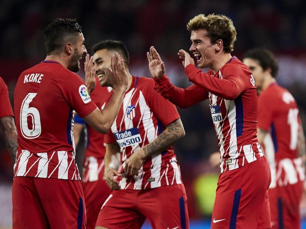 La Liga Nyaris Mustahil, Atletico Bidik Liga Europa