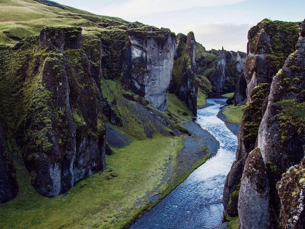 Foto: Lembah Kuno Islandia yang Menawan