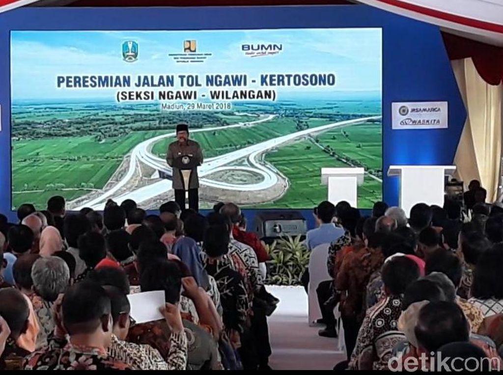 Tol Ngawi-Kertosono Diresmikan: Gubernur Jatim: Seperti Mimpi