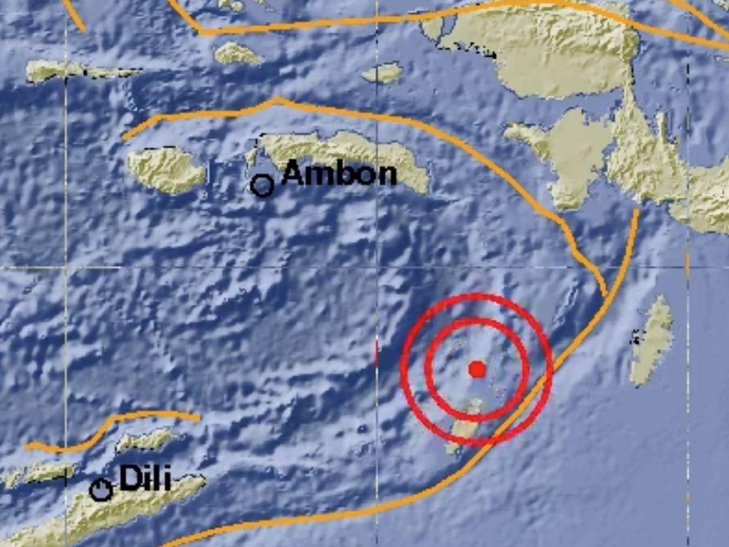 Gempa 5,2 SR Guncang Maluku Tenggara Barat, Tak Berpotensi Tsunami
