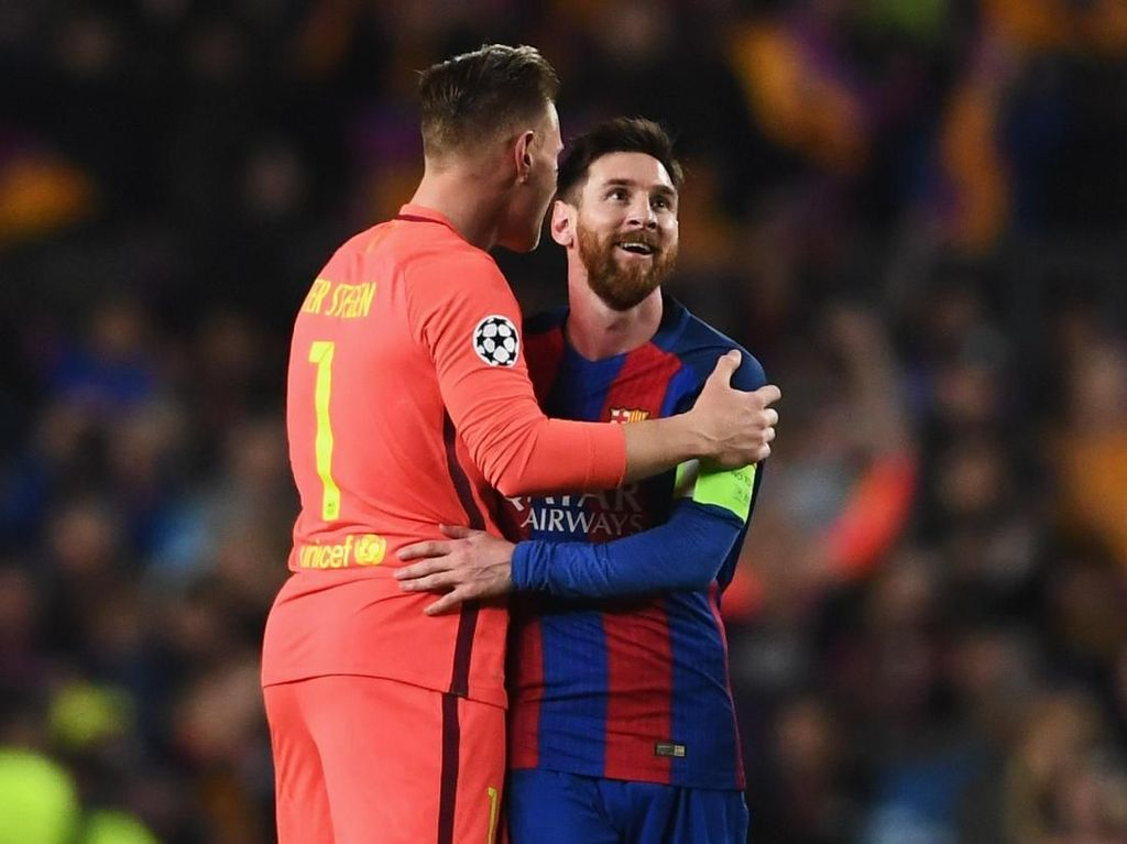 Kok Messi Nggak Pilih Marc-Andre ter Stegen di FIFA Award?