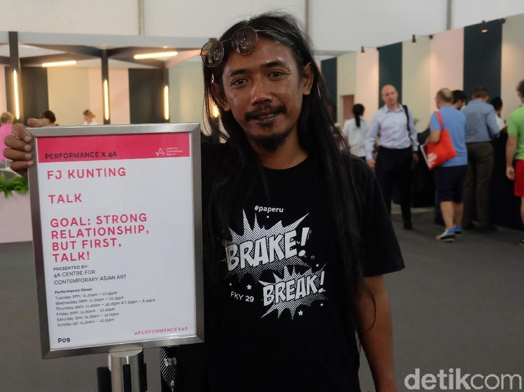 Posisi Performance Artist Indonesia di Mata Art Fair Internasional