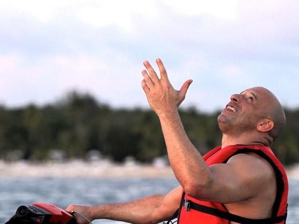 Foto: Ketika Aktor Vin Diesel Pergi Liburan