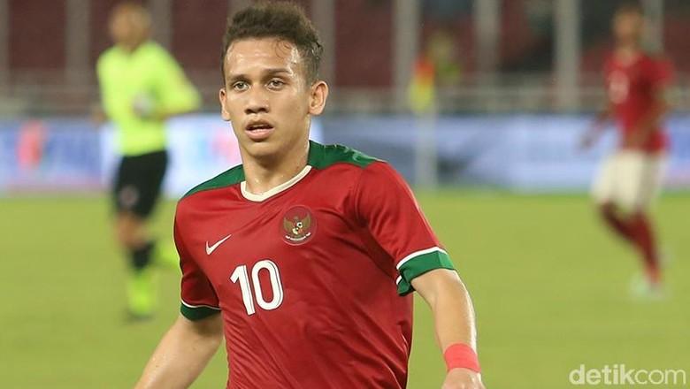 Egy Bawa Indonesia Unggul 1-0 atas Malaysia