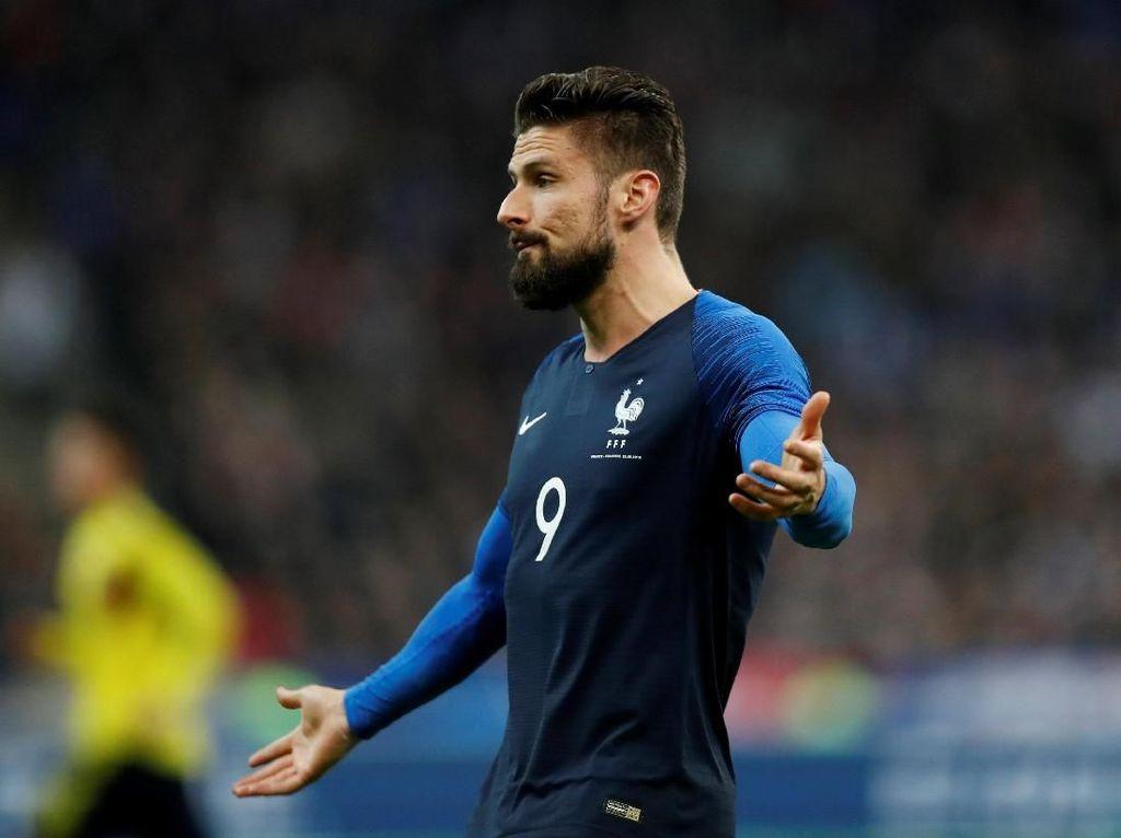 Momen Giroud Ngambek karena Mbappe
