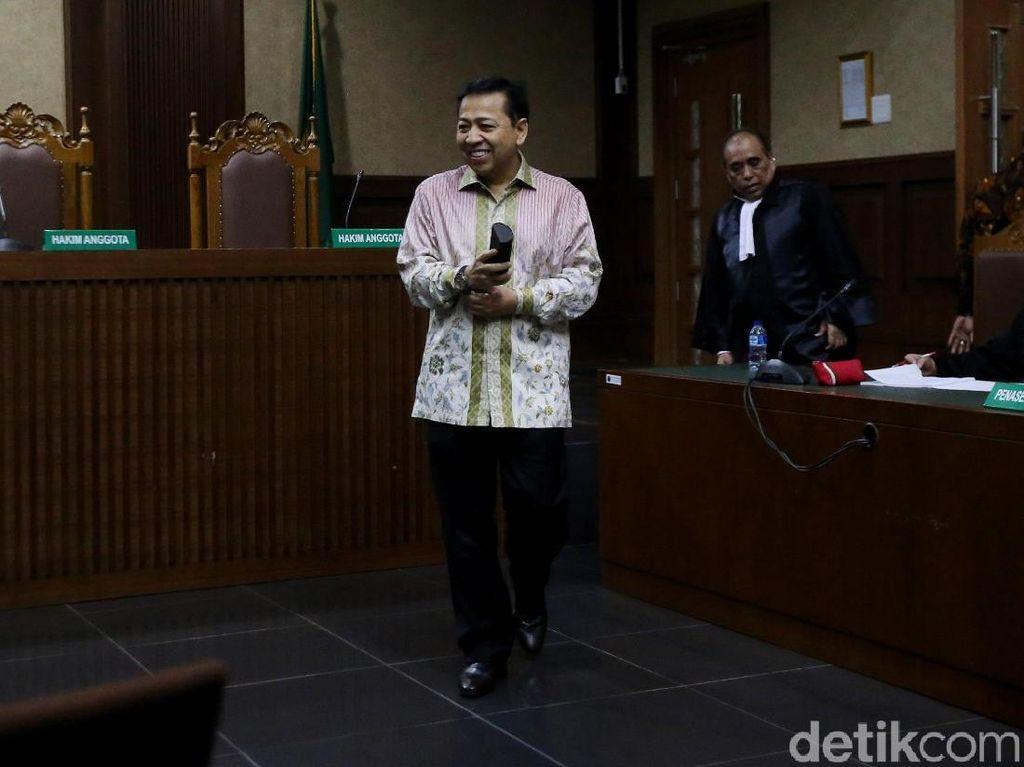Jaksa Minta Novanto Bayar Uang Pengganti USD 7,4 Juta