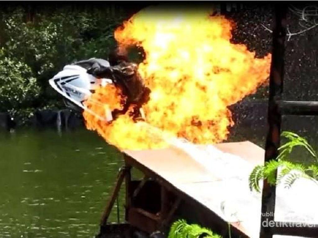 Lincah! Stuntman Ocean Dream Samudera Ancol