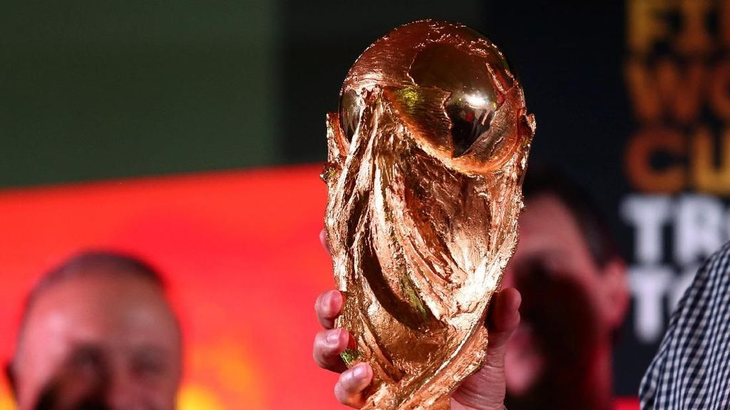 Trofi Piala Dunia Mampir ke Argentina