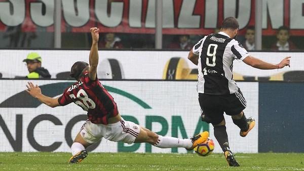 Catatan-Catatan Menarik Jelang Duel Juventus vs Milan