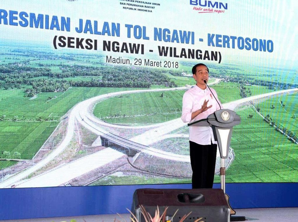 Alasan Jokowi Turunkan Tarif 39 Ruas Tol