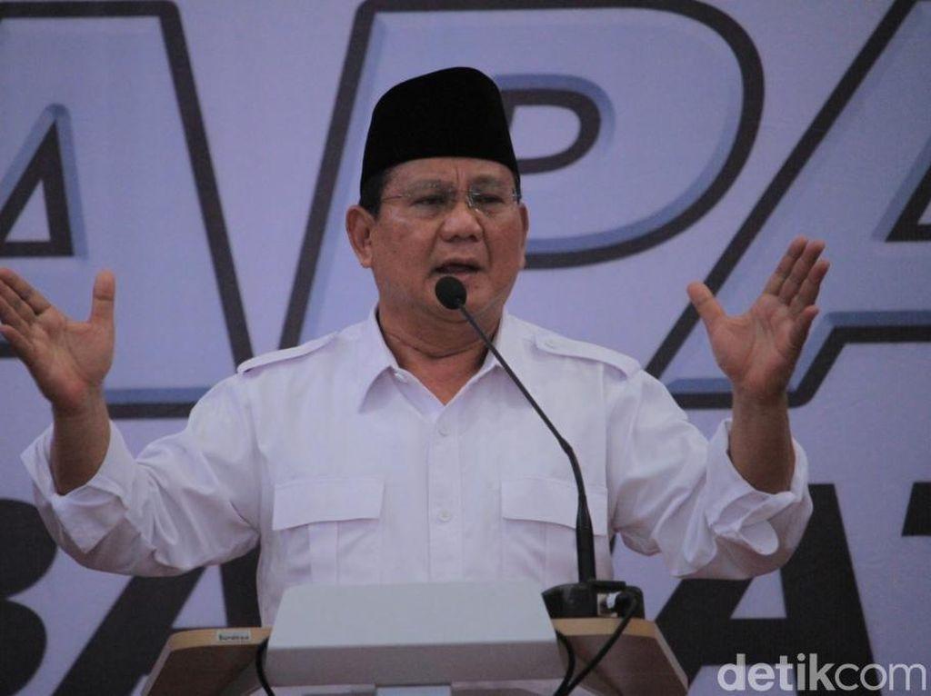 Prabowo Minta Sudrajat Terapkan Revolusi Putih di Jabar