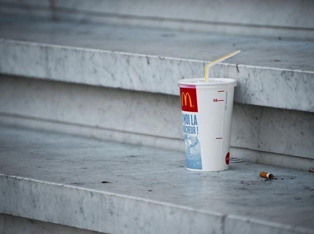 Seluruh Gerai McDonalds Inggris Akan Ganti Sedotan Plastik dengan Sedotan Kertas