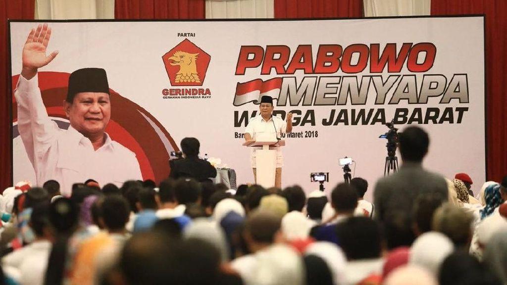 Foto: Aksi Prabowo Turun Gunung ke Jabar