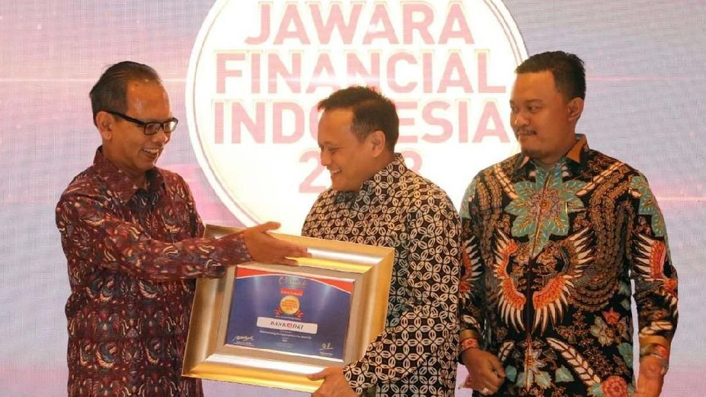 Bank DKI Sabet Gelar Jawara Financial