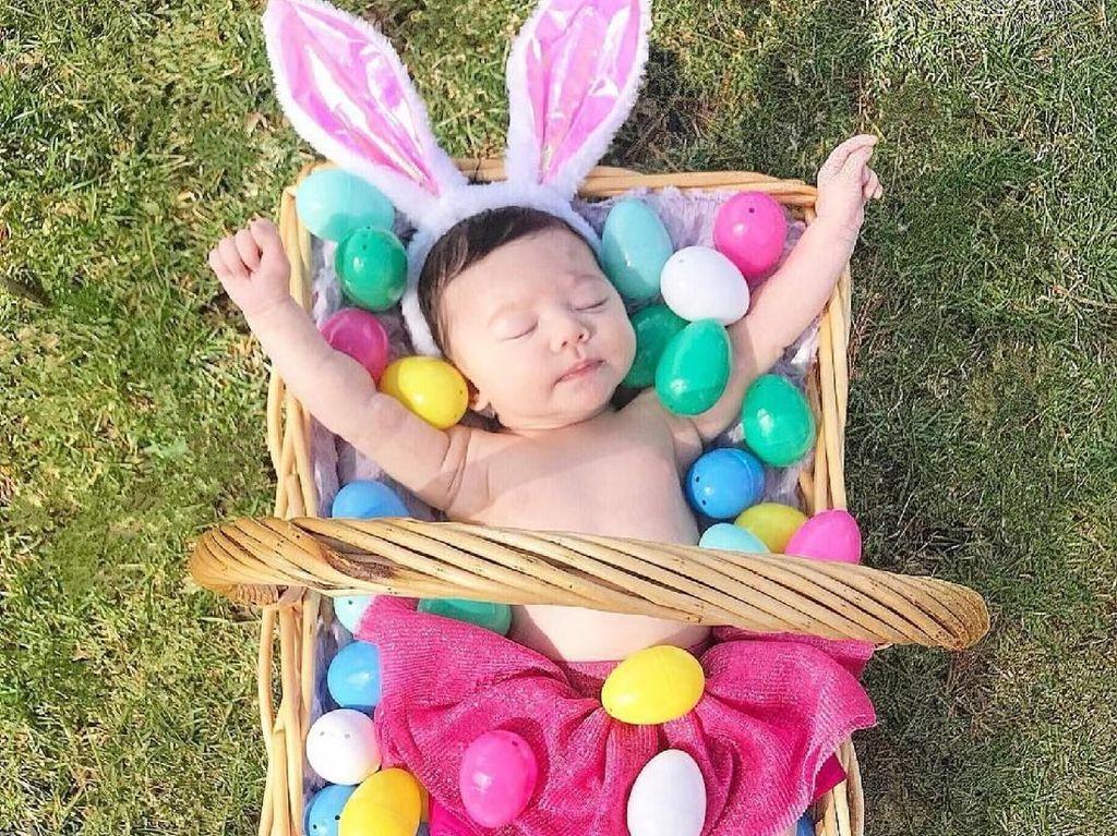 Super Cute! Penampilan Anak-anak Berkostum Easter Bunny
