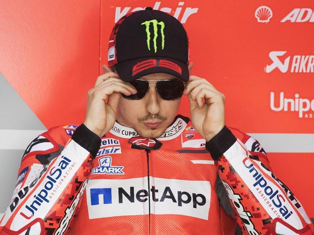 Masalah Rem Motor Lorenzo Sudah Berhasil Diatasi